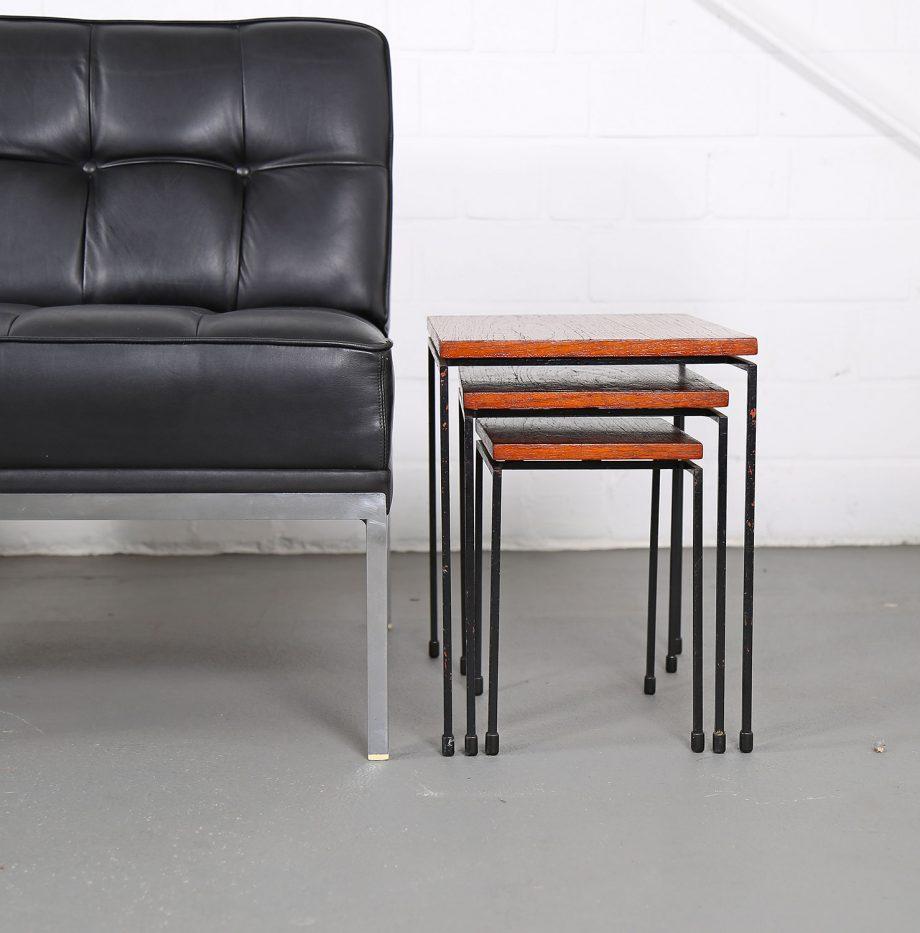 Constanze_Ledersessel_Johannes_Spalt_Wittmann_60er_Design_Set_Barcelona_Chair_25