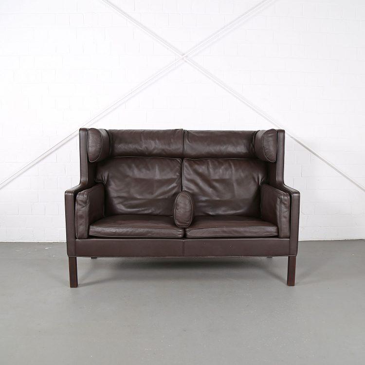 Vintage 2192 Coupe Sofa von Borge Mogensen Fredericia Danish Design 60s Klassiker