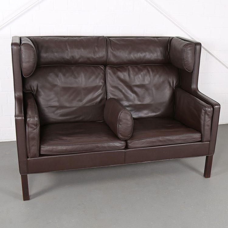Vintage 2192 Coupe Sofa von Borge Mogensen für Fredericia