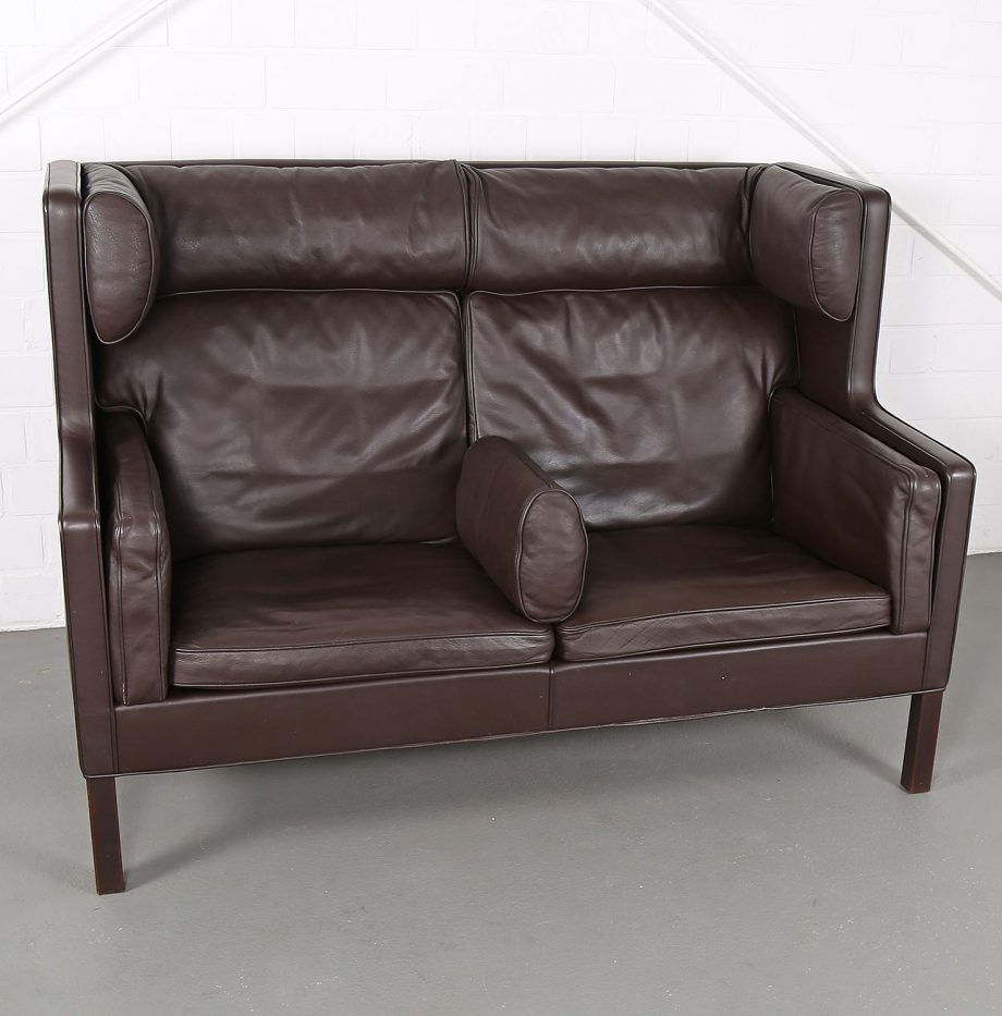 Coupe_Sofa_Borge_Mogensen_Fredericia_Modell_2192_Ledersofa_braun_leather_darkbrown_2-seater_03
