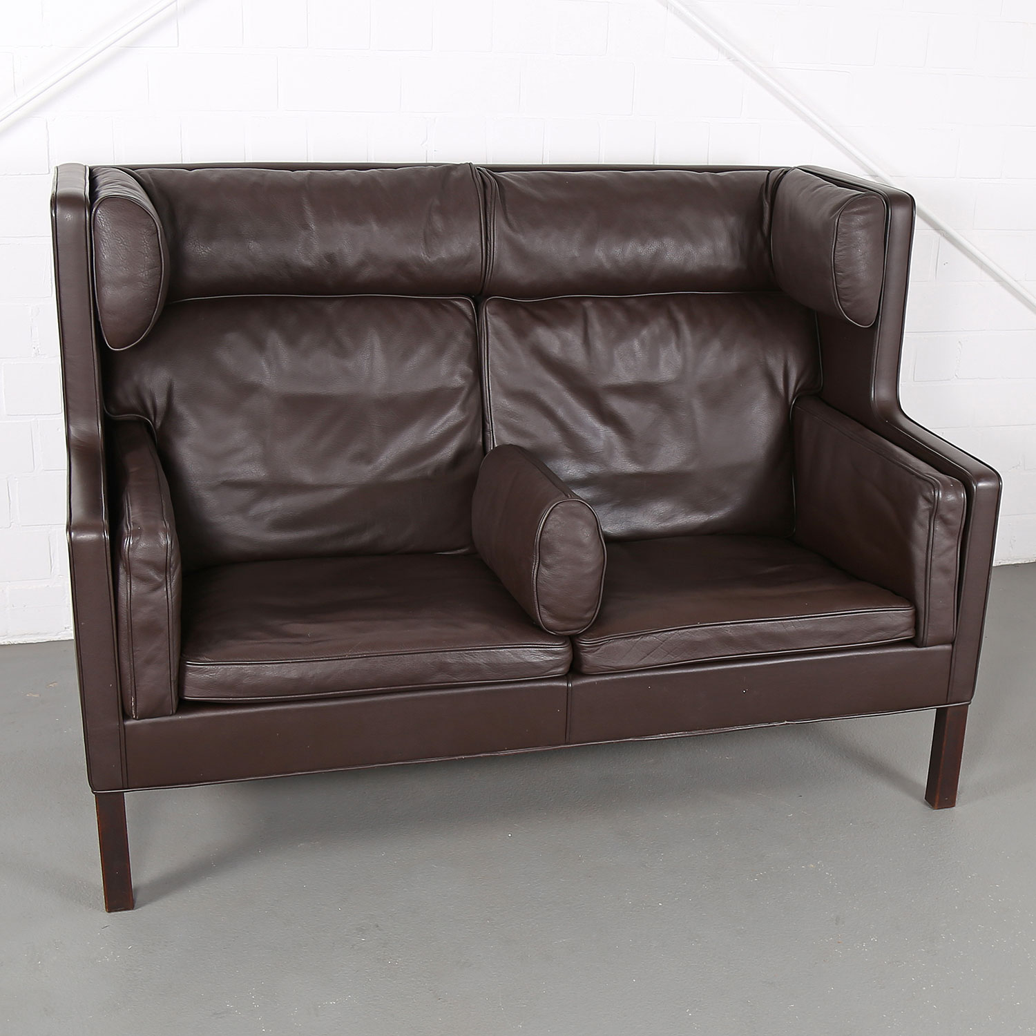 Danish Coupe Sofa 2192 By B 248 Rge Mogensen For Fredericia
