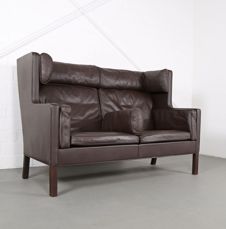 Coupe_Sofa_Borge_Mogensen_Fredericia_Modell_2192_Ledersofa_braun_leather_darkbrown_2-seater_05