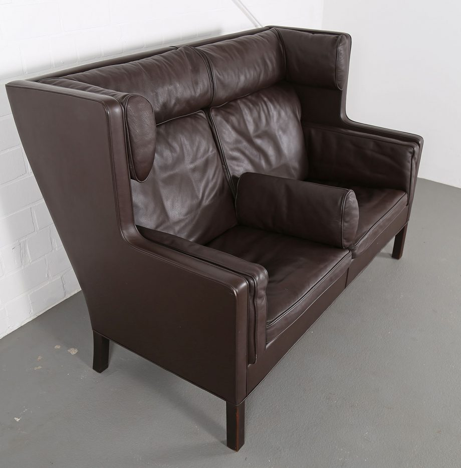 Coupe_Sofa_Borge_Mogensen_Fredericia_Modell_2192_Ledersofa_braun_leather_darkbrown_2-seater_10
