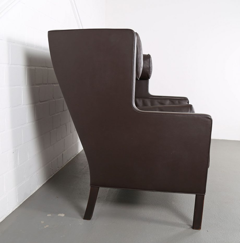 Coupe_Sofa_Borge_Mogensen_Fredericia_Modell_2192_Ledersofa_braun_leather_darkbrown_2-seater_11
