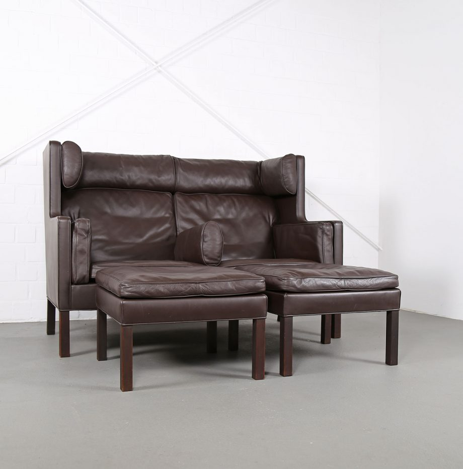 Coupe_Sofa_Borge_Mogensen_Fredericia_Modell_2192_Ledersofa_braun_leather_darkbrown_2-seater_13