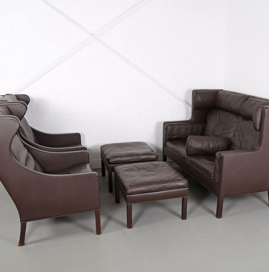 Coupe_Sofa_Borge_Mogensen_Fredericia_Modell_2192_Ledersofa_braun_leather_darkbrown_2-seater_20
