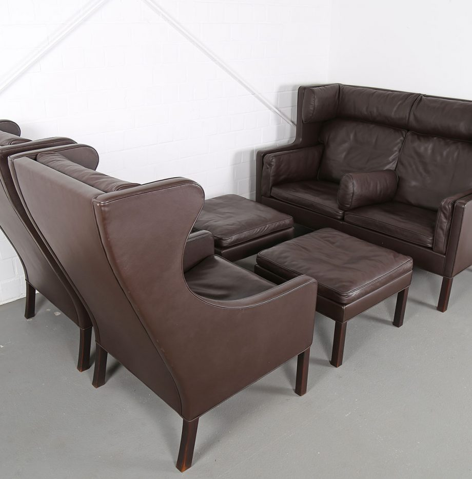Coupe_Sofa_Borge_Mogensen_Fredericia_Modell_2192_Ledersofa_braun_leather_darkbrown_2-seater_24