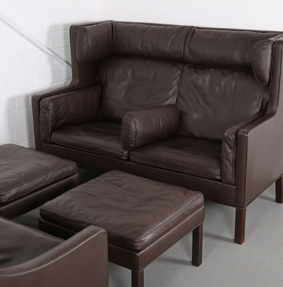 Coupe_Sofa_Borge_Mogensen_Fredericia_Modell_2192_Ledersofa_braun_leather_darkbrown_2-seater_25