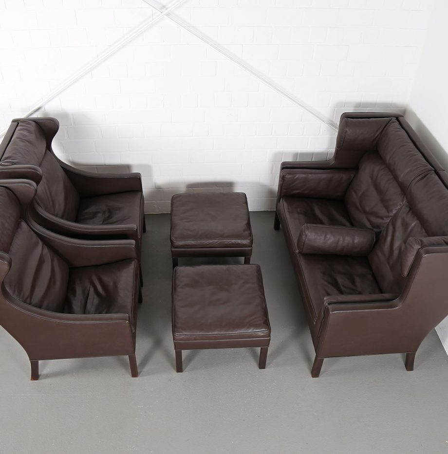 Coupe_Sofa_Borge_Mogensen_Fredericia_Modell_2192_Ledersofa_braun_leather_darkbrown_2-seater_26