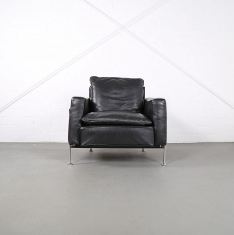Trix & Robert Haussmann De Sede RH 302 Leather Easy Chair