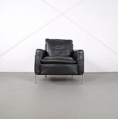 Trix & Robert Haussmann De Sede RH 302 Leather Easy Chair