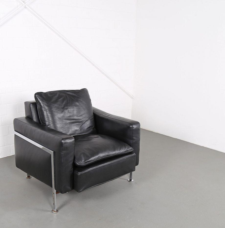 De_Sede_RH_302_Trix_Robert_Haussmann_Ledersessel_Leather_Easy_Chair_schwarz_chrom_Hans_Kaufeld_03