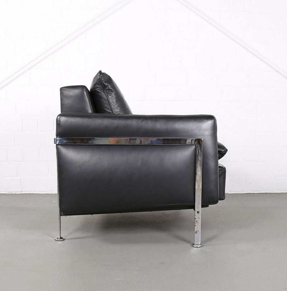 De_Sede_RH_302_Trix_Robert_Haussmann_Ledersessel_Leather_Easy_Chair_schwarz_chrom_Hans_Kaufeld_14