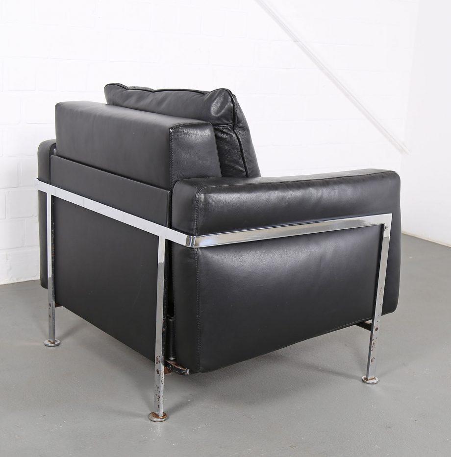 De_Sede_RH_302_Trix_Robert_Haussmann_Ledersessel_Leather_Easy_Chair_schwarz_chrom_Hans_Kaufeld_16