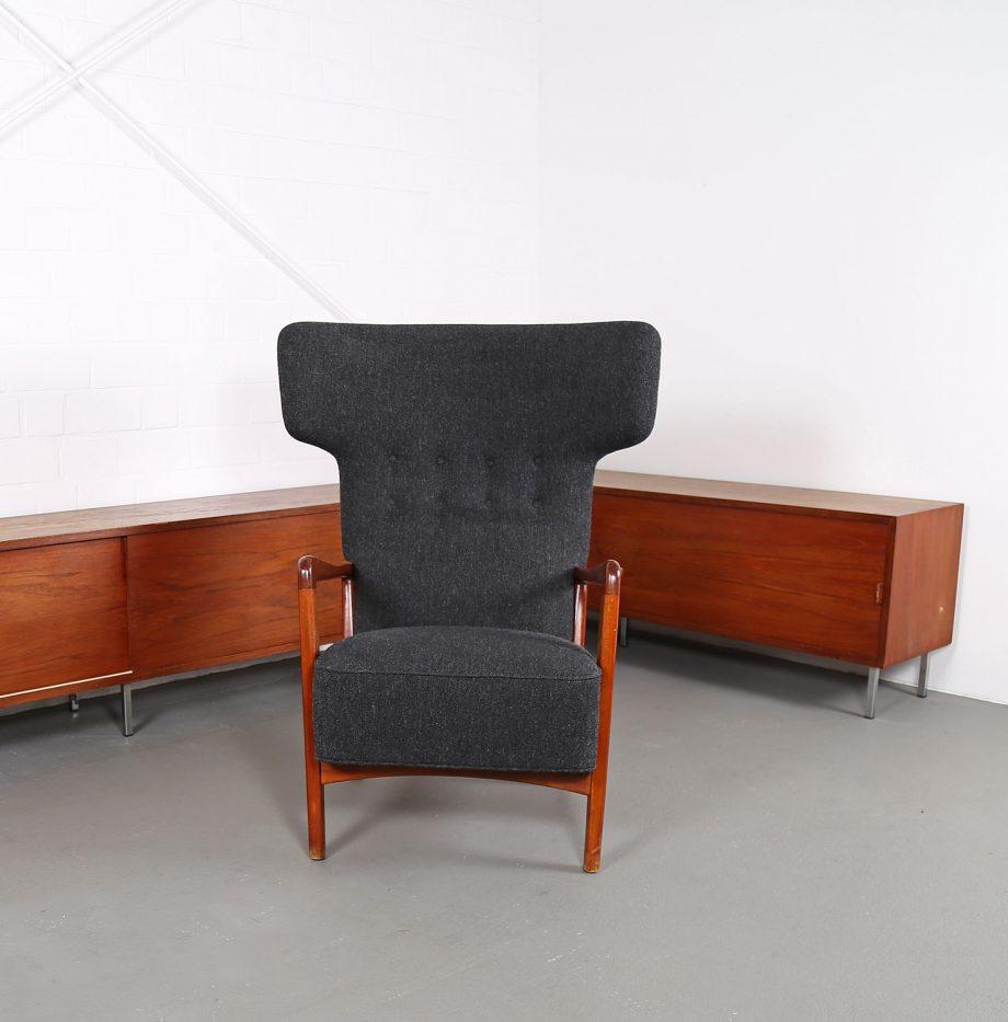 Fritz_Hansen_Soeren_Hansen_Hammerhead_Wingbackchair_50er_1951_Danish_Design_Kvadrat_Wool_Teak_Chair_02