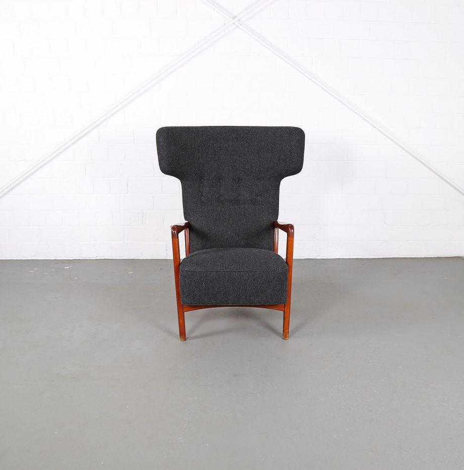 Fritz_Hansen_Soeren_Hansen_Hammerhead_Wingbackchair_50er_1951_Danish_Design_Kvadrat_Wool_Teak_Chair_11