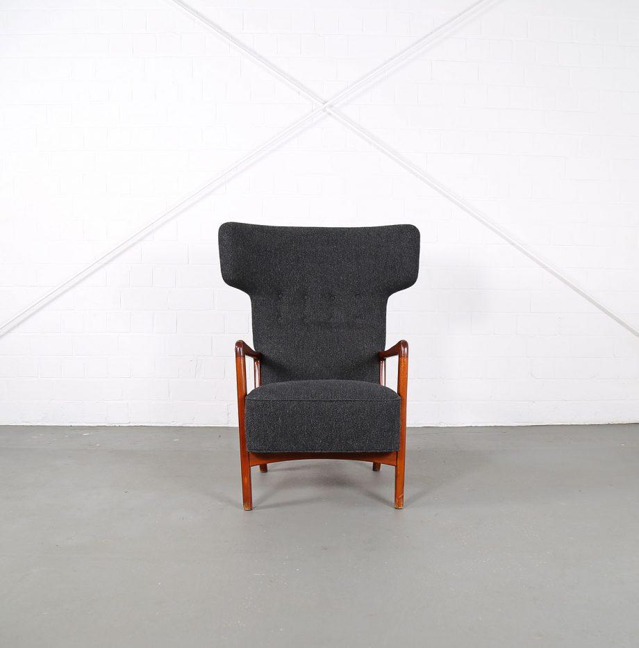 Fritz_Hansen_Soeren_Hansen_Hammerhead_Wingbackchair_50er_1951_Danish_Design_Kvadrat_Wool_Teak_Chair_12