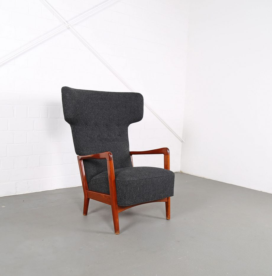 Fritz_Hansen_Soeren_Hansen_Hammerhead_Wingbackchair_50er_1951_Danish_Design_Kvadrat_Wool_Teak_Chair_15