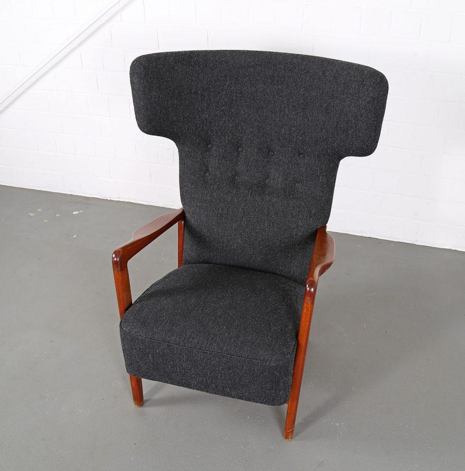 Fritz_Hansen_Soeren_Hansen_Hammerhead_Wingbackchair_50er_1951_Danish_Design_Kvadrat_Wool_Teak_Chair_18