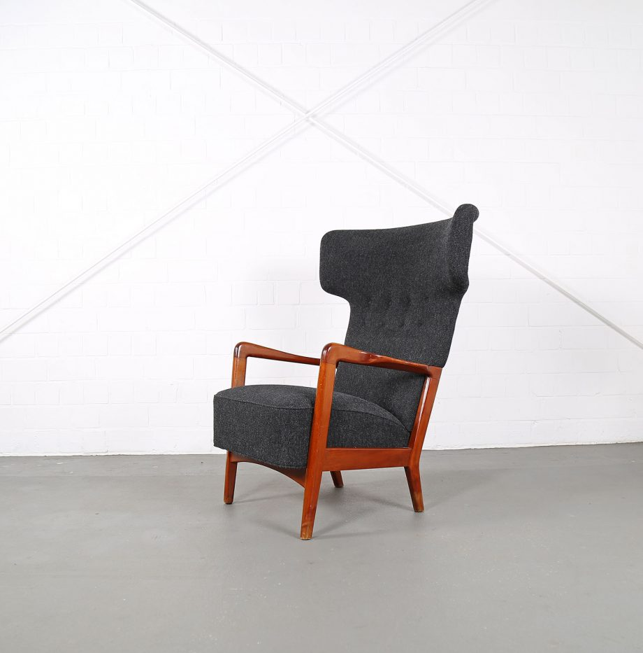 Fritz_Hansen_Soeren_Hansen_Hammerhead_Wingbackchair_50er_1951_Danish_Design_Kvadrat_Wool_Teak_Chair_20