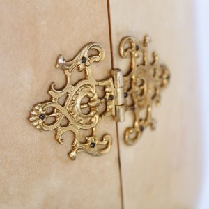 Aldo Tura Bar Cabinet Goatskin Italy 60s Design