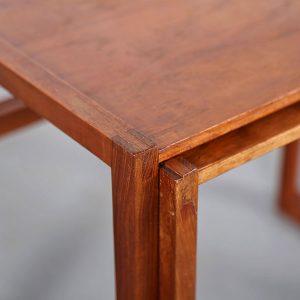 Danish Design Teak Nesting Tables Kai Kristiansen Vildbjerg Møbelfabrik used gebraucht Satztische Klassiker kaufen