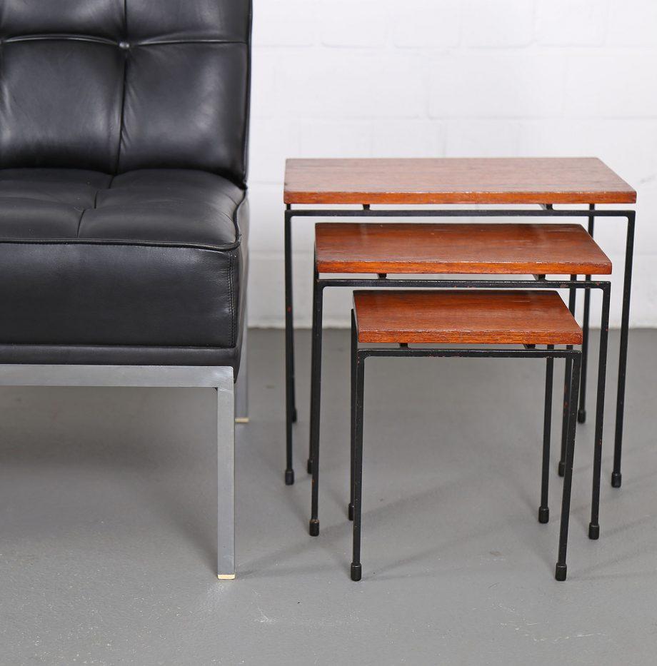Nesting_Tables_Satztische_Set_Cees_Braakman_Pastoe_Style_60er_Design_Teak_minimalistische_Beistelltische_01