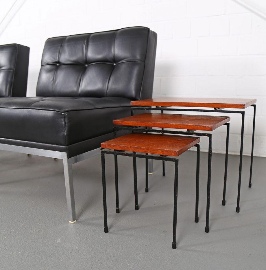 Nesting_Tables_Satztische_Set_Cees_Braakman_Pastoe_Style_60er_Design_Teak_minimalistische_Beistelltische_02