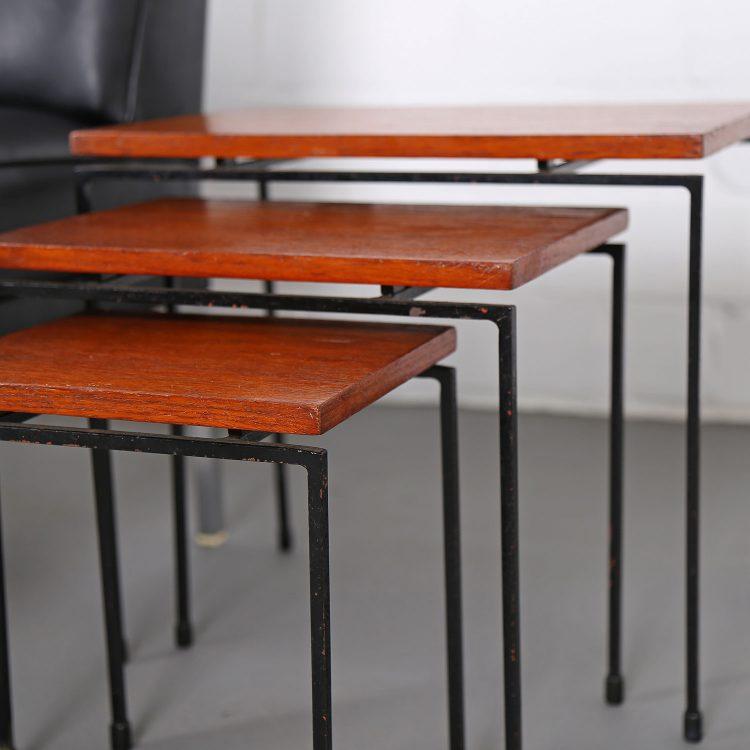 Teak Nesting Tables style Cees Braakman Pastoe 60s 60er Jahre Designklassiker gebraucht kaufen