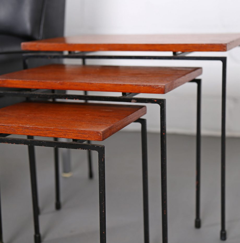 Nesting_Tables_Satztische_Set_Cees_Braakman_Pastoe_Style_60er_Design_Teak_minimalistische_Beistelltische_03