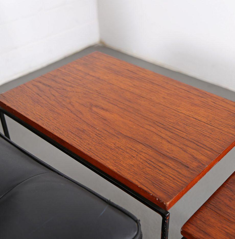 Nesting_Tables_Satztische_Set_Cees_Braakman_Pastoe_Style_60er_Design_Teak_minimalistische_Beistelltische_04