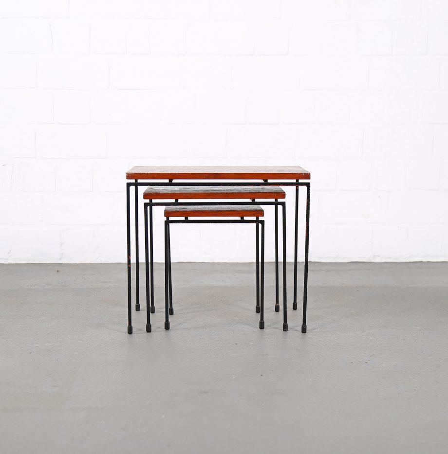Nesting_Tables_Satztische_Set_Cees_Braakman_Pastoe_Style_60er_Design_Teak_minimalistische_Beistelltische_10
