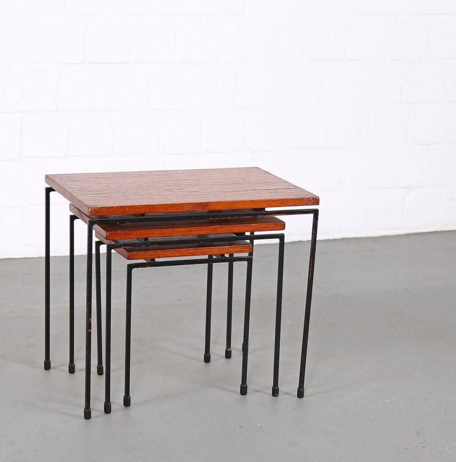 Nesting_Tables_Satztische_Set_Cees_Braakman_Pastoe_Style_60er_Design_Teak_minimalistische_Beistelltische_12