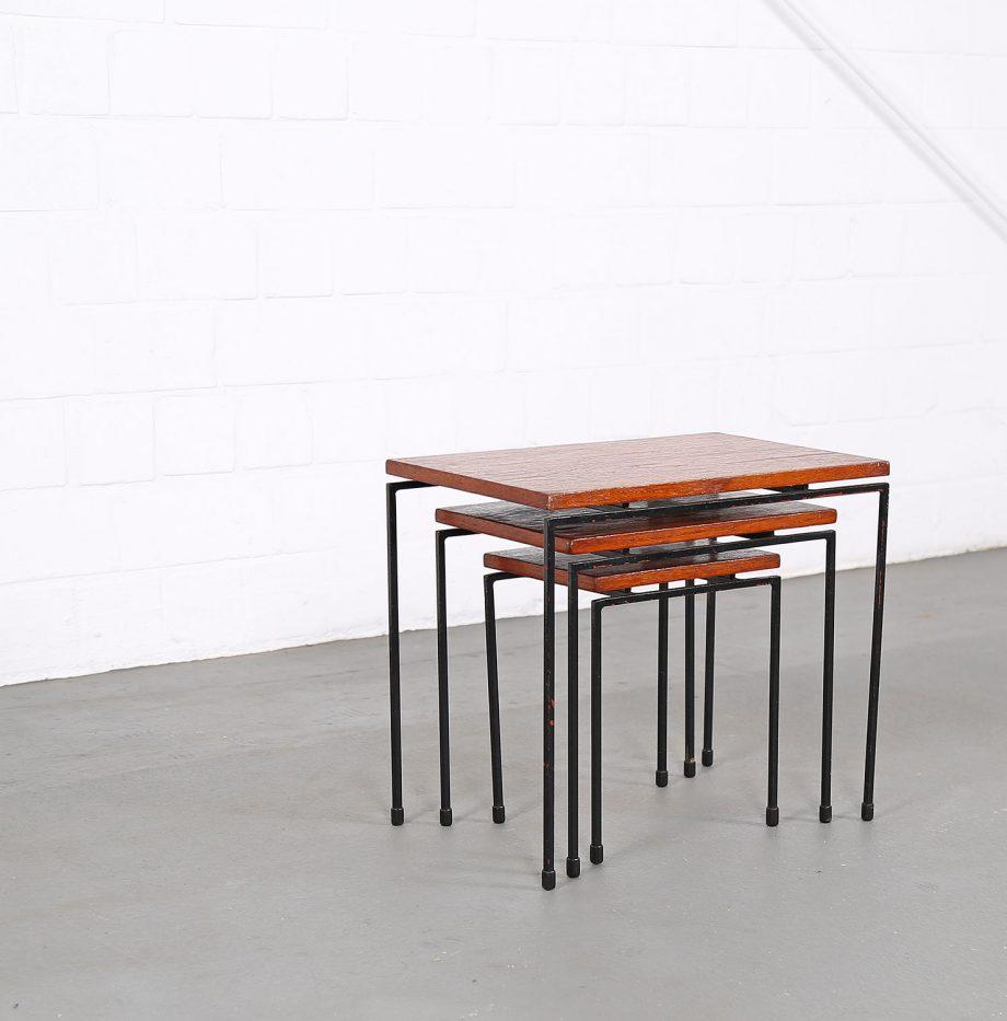 Nesting_Tables_Satztische_Set_Cees_Braakman_Pastoe_Style_60er_Design_Teak_minimalistische_Beistelltische_13
