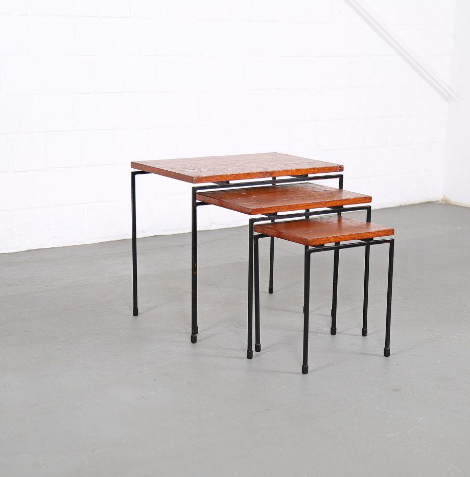Nesting_Tables_Satztische_Set_Cees_Braakman_Pastoe_Style_60er_Design_Teak_minimalistische_Beistelltische_20