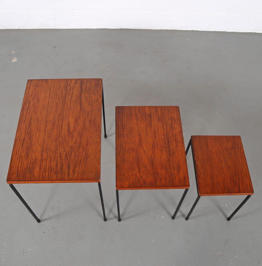 Nesting_Tables_Satztische_Set_Cees_Braakman_Pastoe_Style_60er_Design_Teak_minimalistische_Beistelltische_21