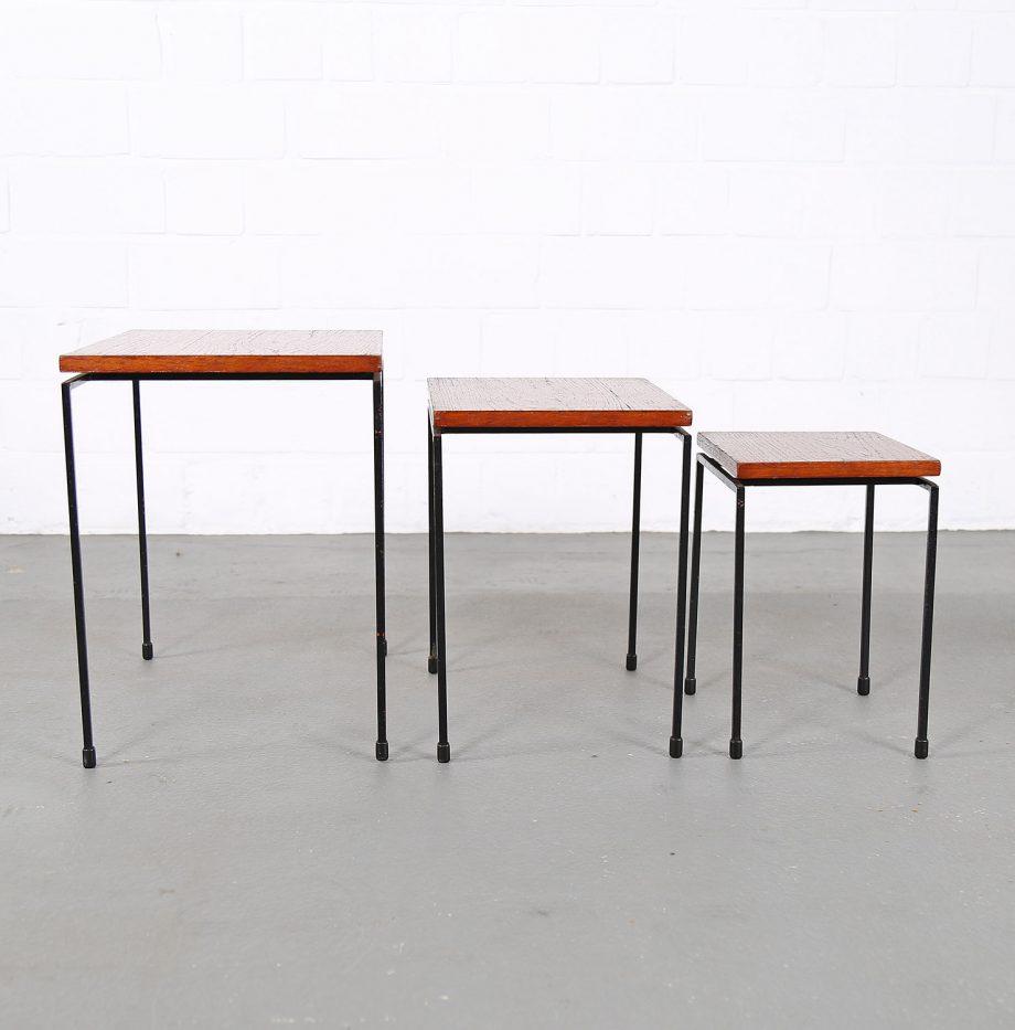 Nesting_Tables_Satztische_Set_Cees_Braakman_Pastoe_Style_60er_Design_Teak_minimalistische_Beistelltische_22