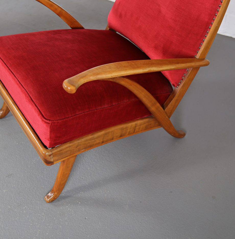 Ohrensessel_Set_Karl_Nothhelfer_Schoerle_Goelz_50er_Wingback-Chair_Germany_Red_Wood_Design_14