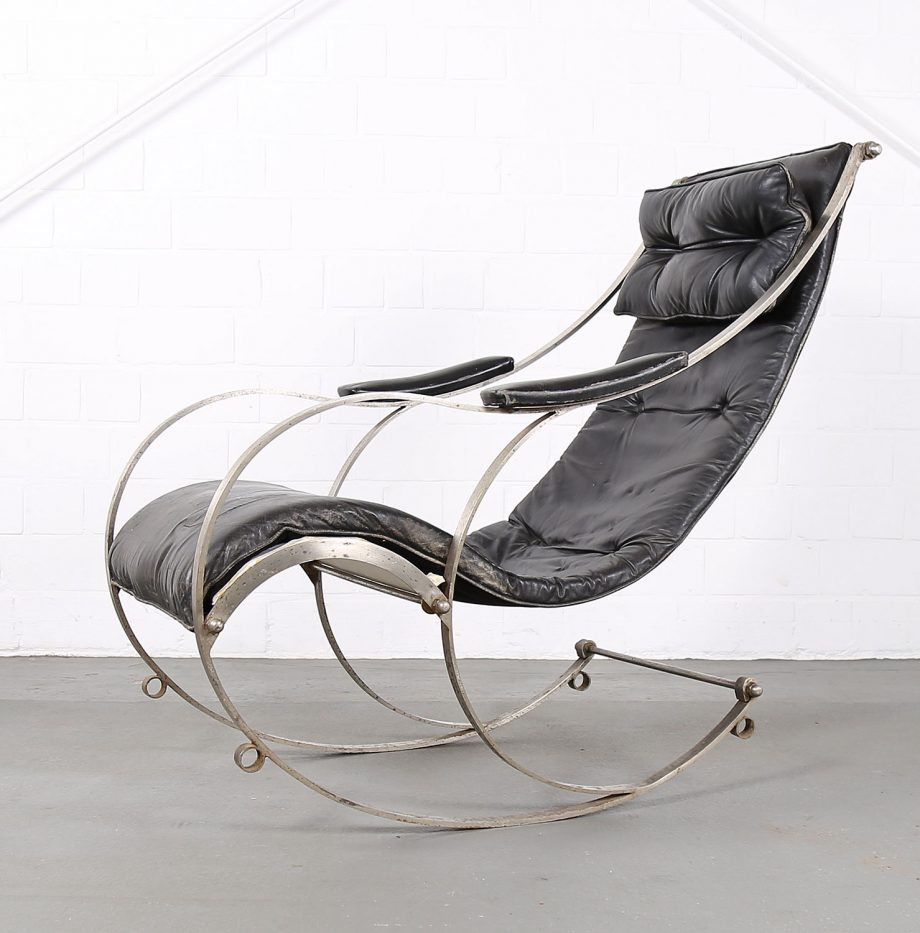 Rocking_Chair_Peter_Cooper_RW_Winfield_1851_Designklassiker_gebraucht_Vintage_Schaukelstuhl_Eisen_Leder_01