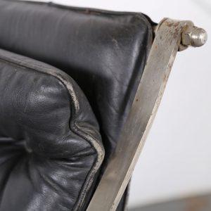 Rocking Chair Peter Cooper for R. W. Winfield 1851 Designklassiker gebraucht kaufen Museum Klassiker Schaukelstuhl Leder