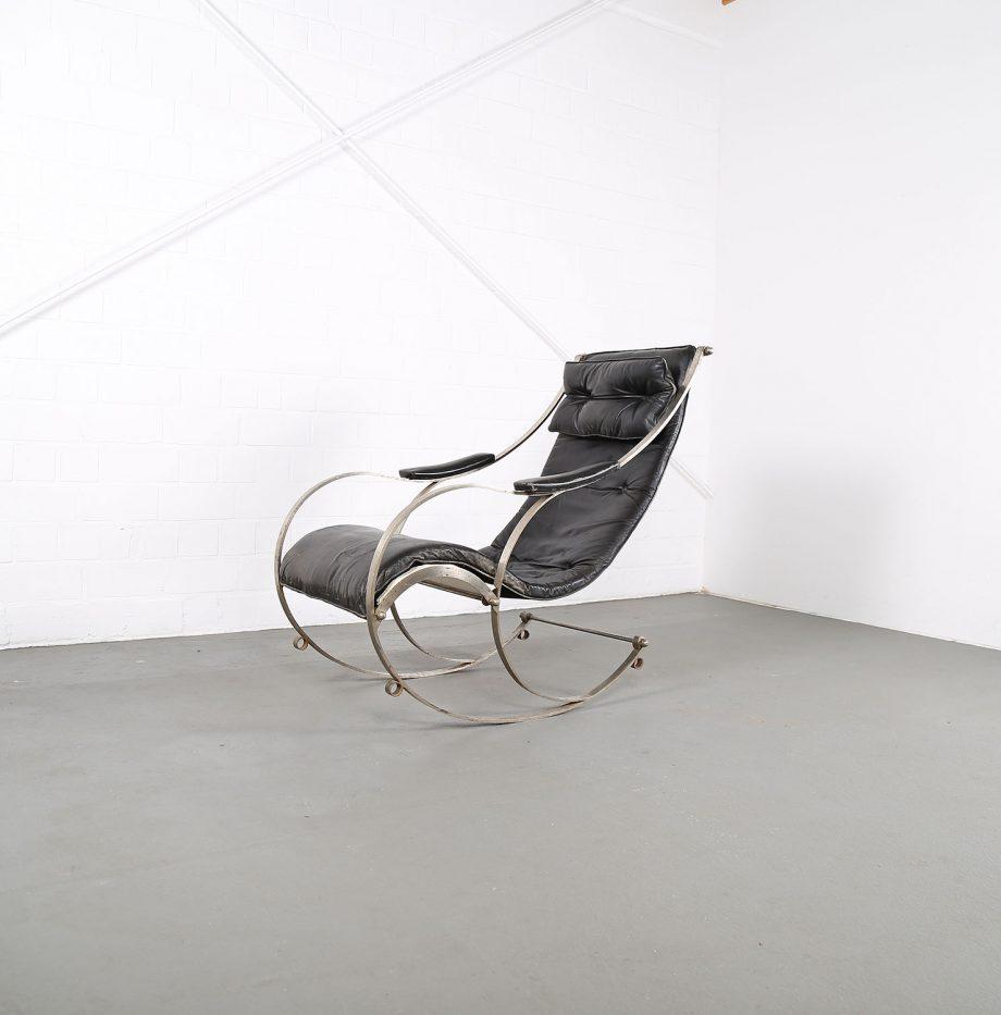 Rocking_Chair_Peter_Cooper_RW_Winfield_1851_Designklassiker_gebraucht_Vintage_Schaukelstuhl_Eisen_Leder_15
