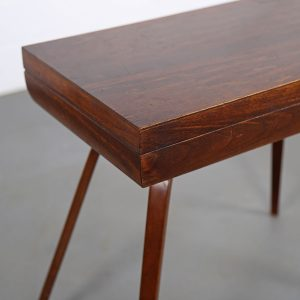 Vintage Rosewood Cutlery Console Canteen Box Alvar AAlto Thonet Rare used retro 50s Design
