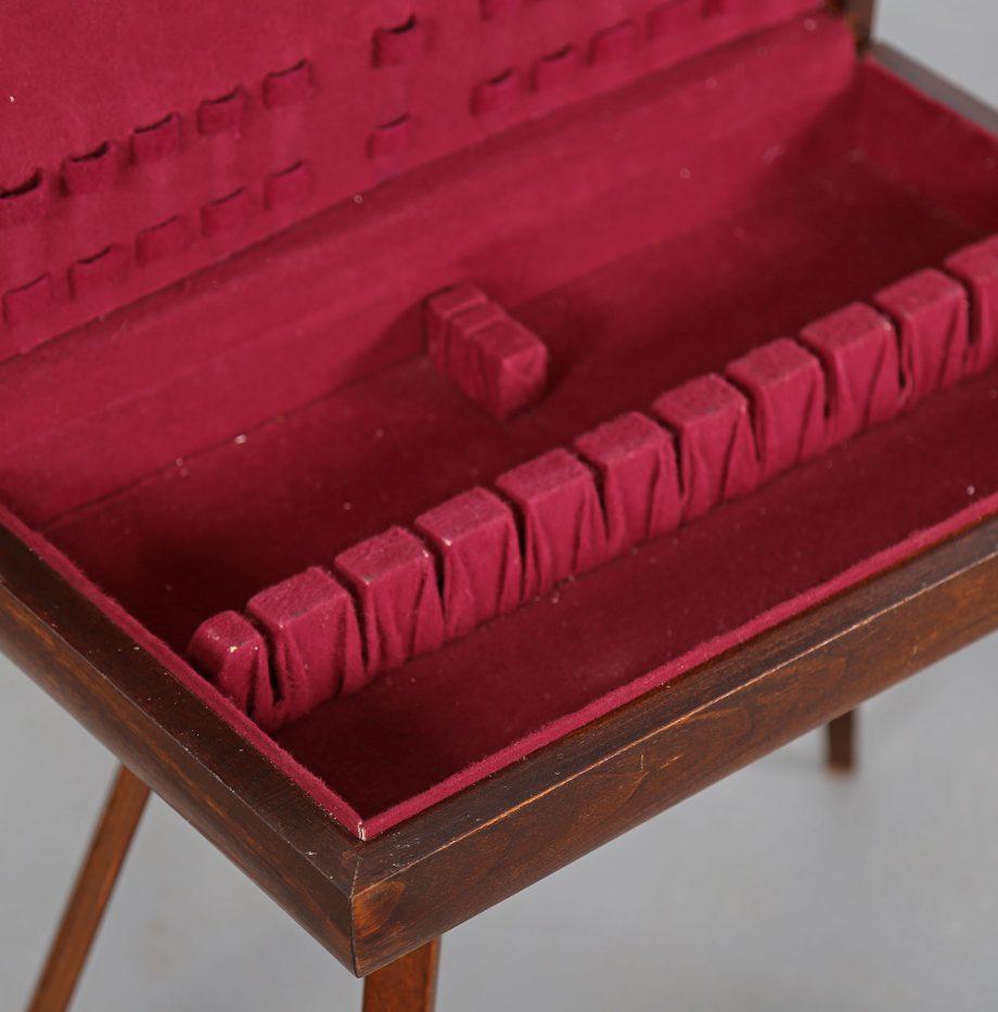 Rosewood_Cutlery_Console_Canteen_Box_Alvar_Aalto_Thonet_Vintage_Besteckkasten_11