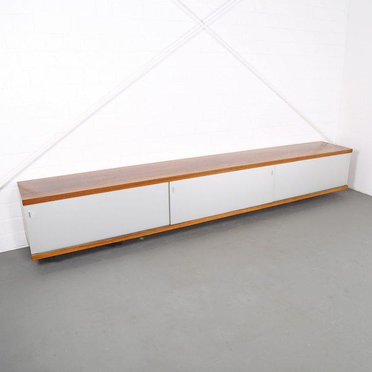 Horst Brüning Sideboard 1730 wall mounted floating Behr Rosewood 60s Design Klassiker