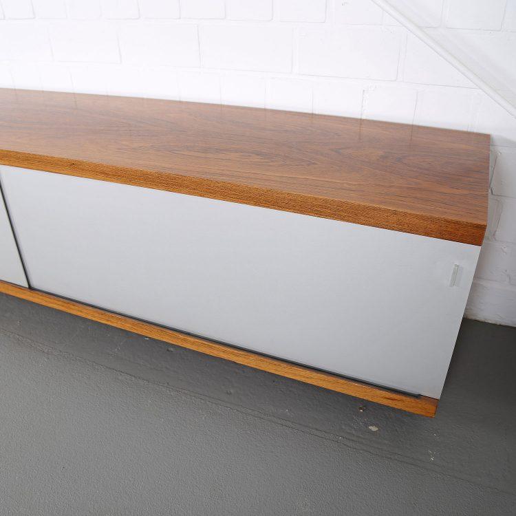 Horst Brüning Sideboard 1730 wall mounted floating Behr Rosewood 60s Design KlassikerHorst Brüning Sideboard 1730 wall mounted floating Behr Rosewood 60s Design Klassiker