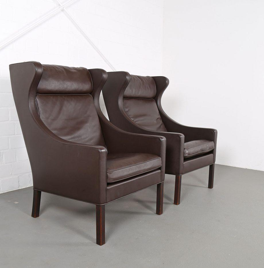 Sessel_Borge_Mogensen_Fredericia_Modell_2204_Ledersessel_mit_Hocker_Set_braun_leather_darkbrown_wingback-chair_ottoman_15