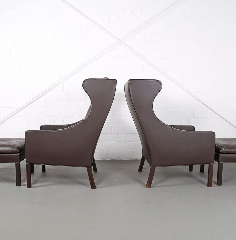 Sessel_Borge_Mogensen_Fredericia_Modell_2204_Ledersessel_mit_Hocker_Set_braun_leather_darkbrown_wingback-chair_ottoman_21