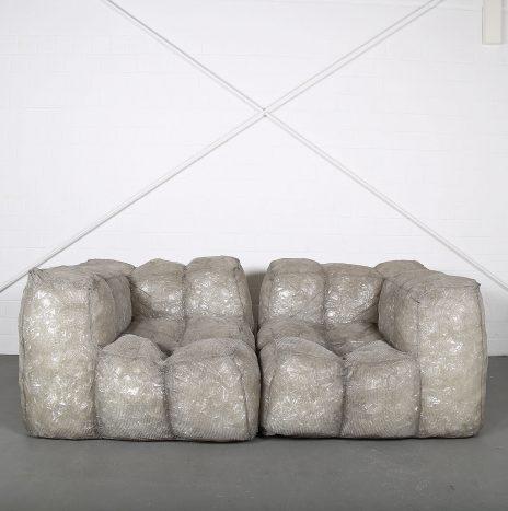 Lighted sofa Via Lattea Stardust Design by Mario Bellini for Meritalia Leucht-Sofa