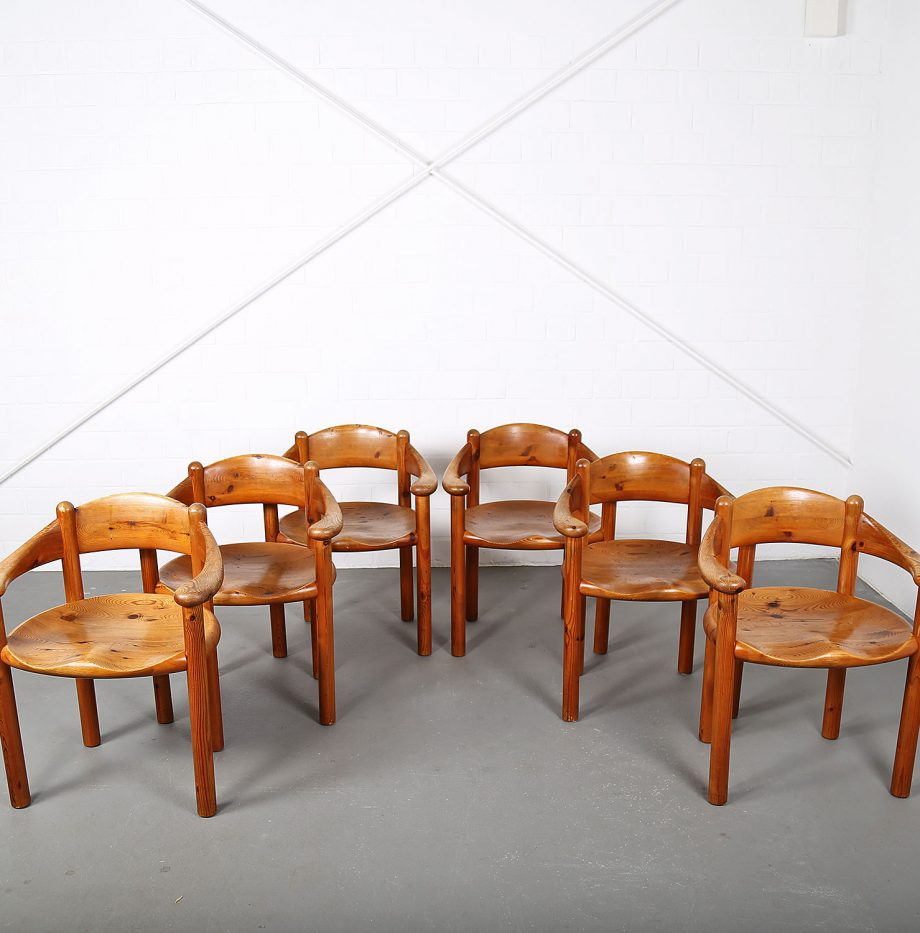 Mid-Century_Modern_Set_Pine_Danish_Chairs_Rainer_Daumiller_1970s_Kiefer_Design_01