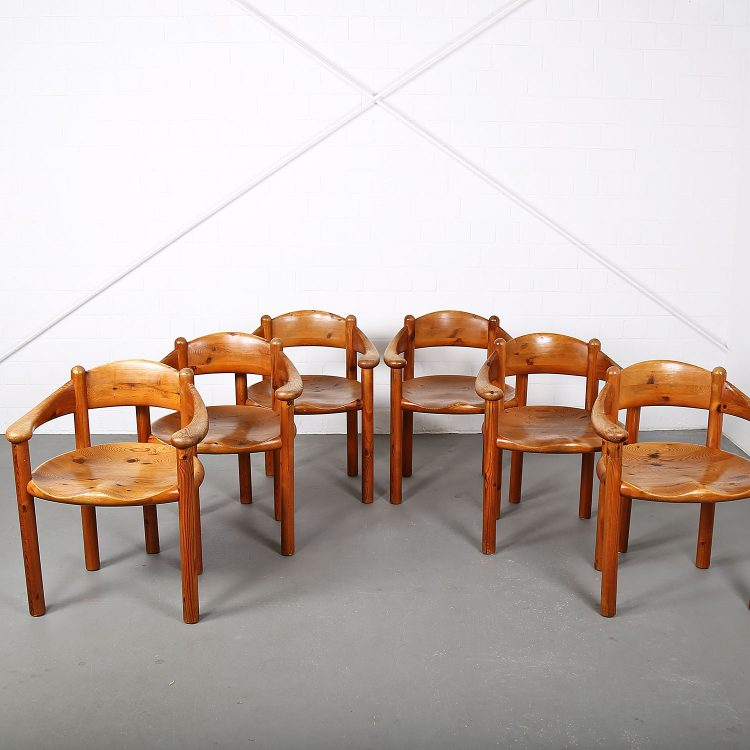 Mid-Century_Modern_Set_Pine_Danish_Chairs_Rainer_Daumiller_1970s_Kiefer_Design